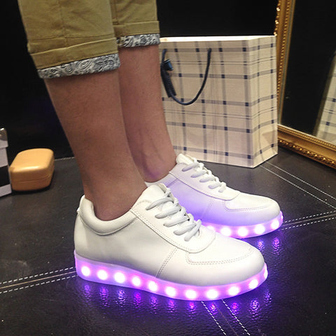 STUNNING! LED Luminous Shoes Men & Women Casual Shoes