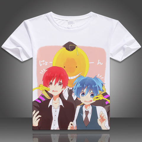 2016 newest anime T-shirt casual tshirt Assassination Classroom cosplay digital printed hot anime t shirt Korosensei t-shirt