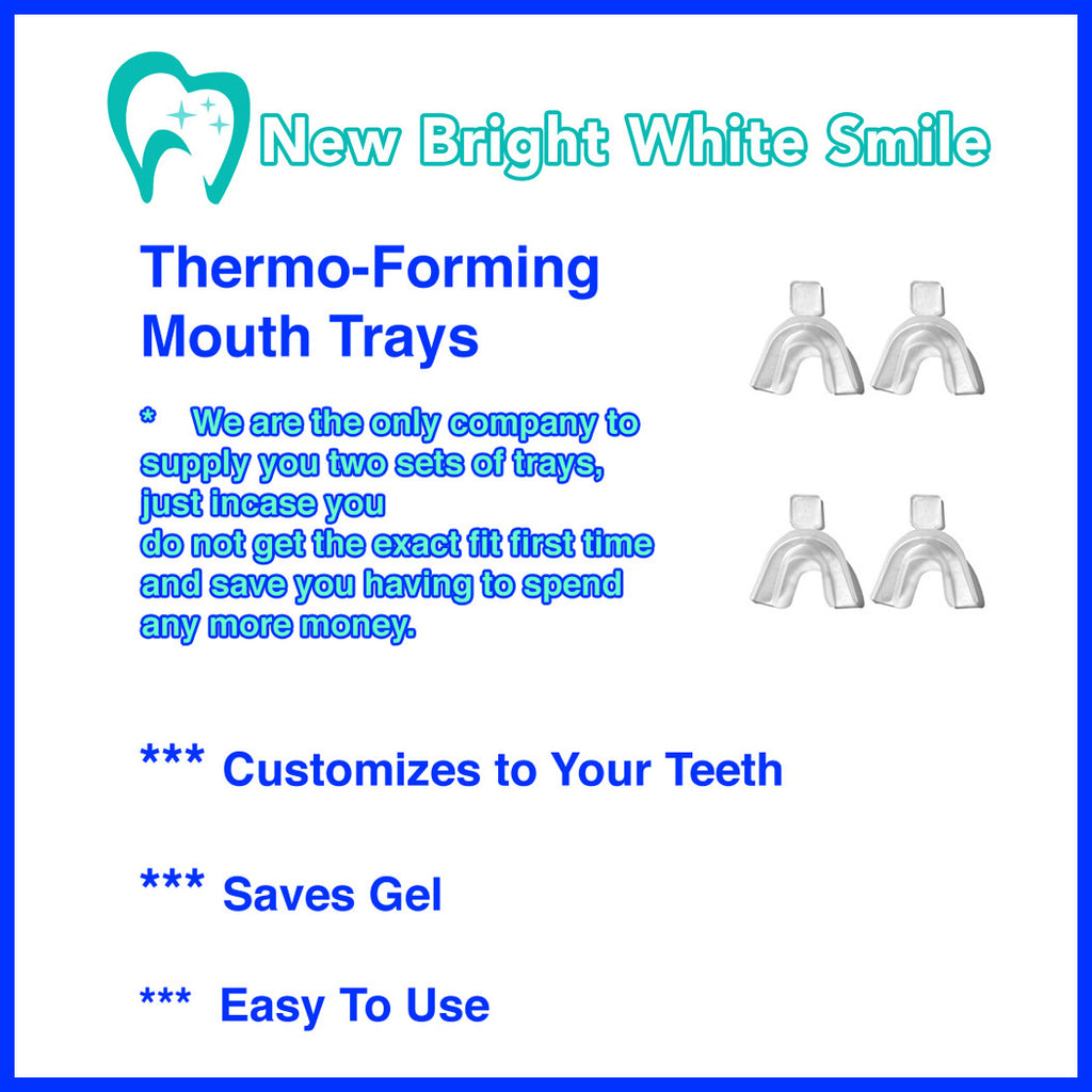 New Bright White Smile Thermo-Forming Mouth Trays