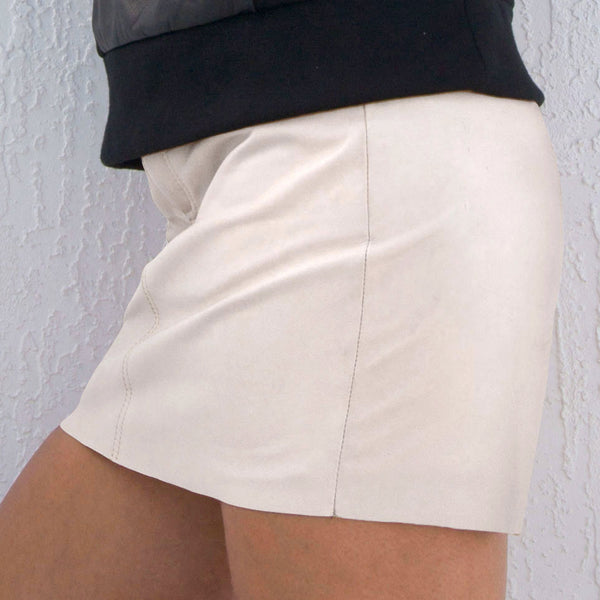 Jeans style Mini Skirt but we can lengthen it for you
