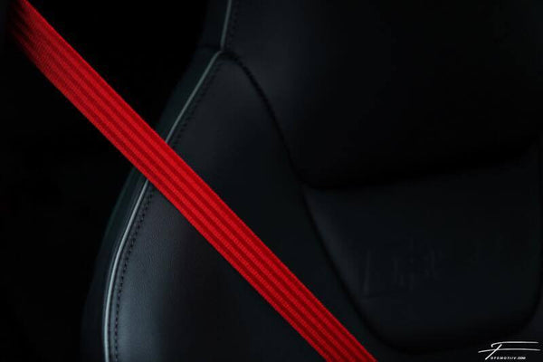 Coloured Seat Belt