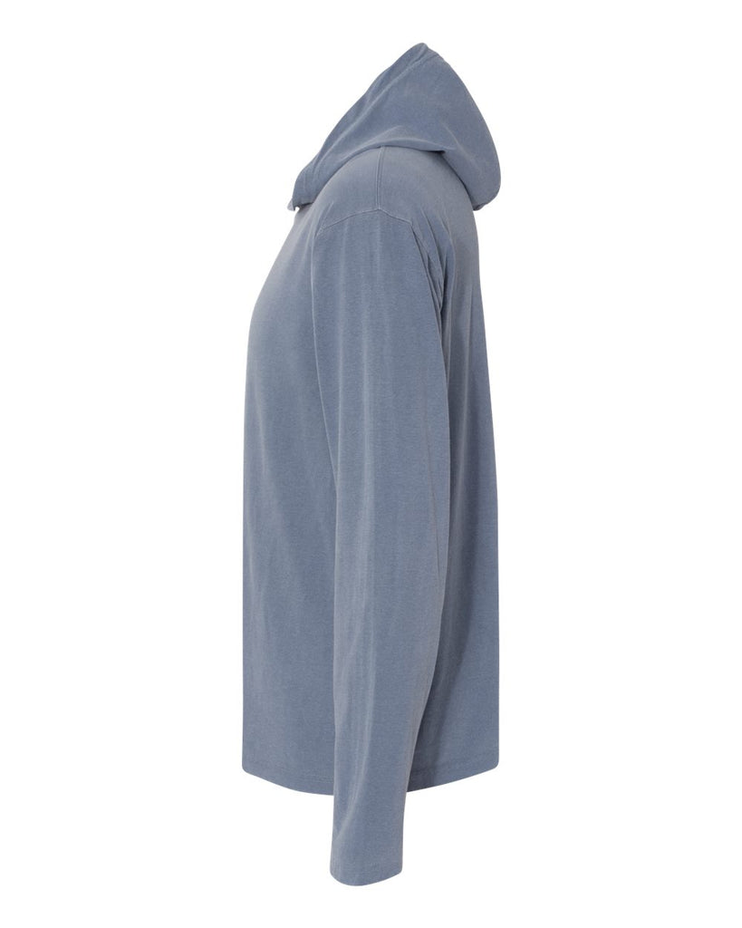 7 ate 9 Apparel Unisex Adult How Long Will We Be In This Together Quarantine Blue Hooded Shirt