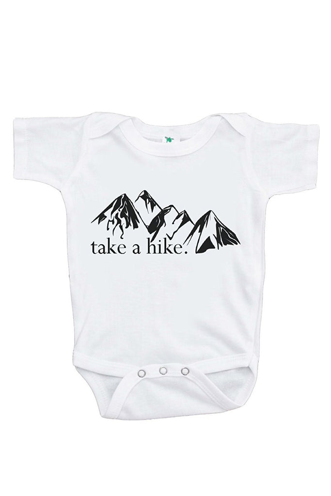 7 ate 9 Apparel Baby's Take a Hike Outdoors Onepiece