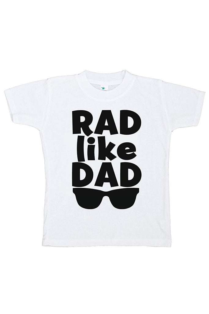 7 ate 9 Apparel Boy's Novelty Rad Like Dad T-shirt