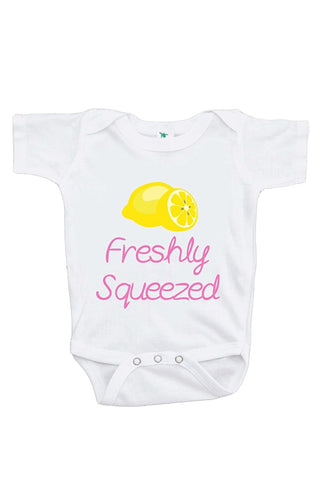 Custom Party Shop Baby Girl's Freshly Squeezed Lemon Onepiece