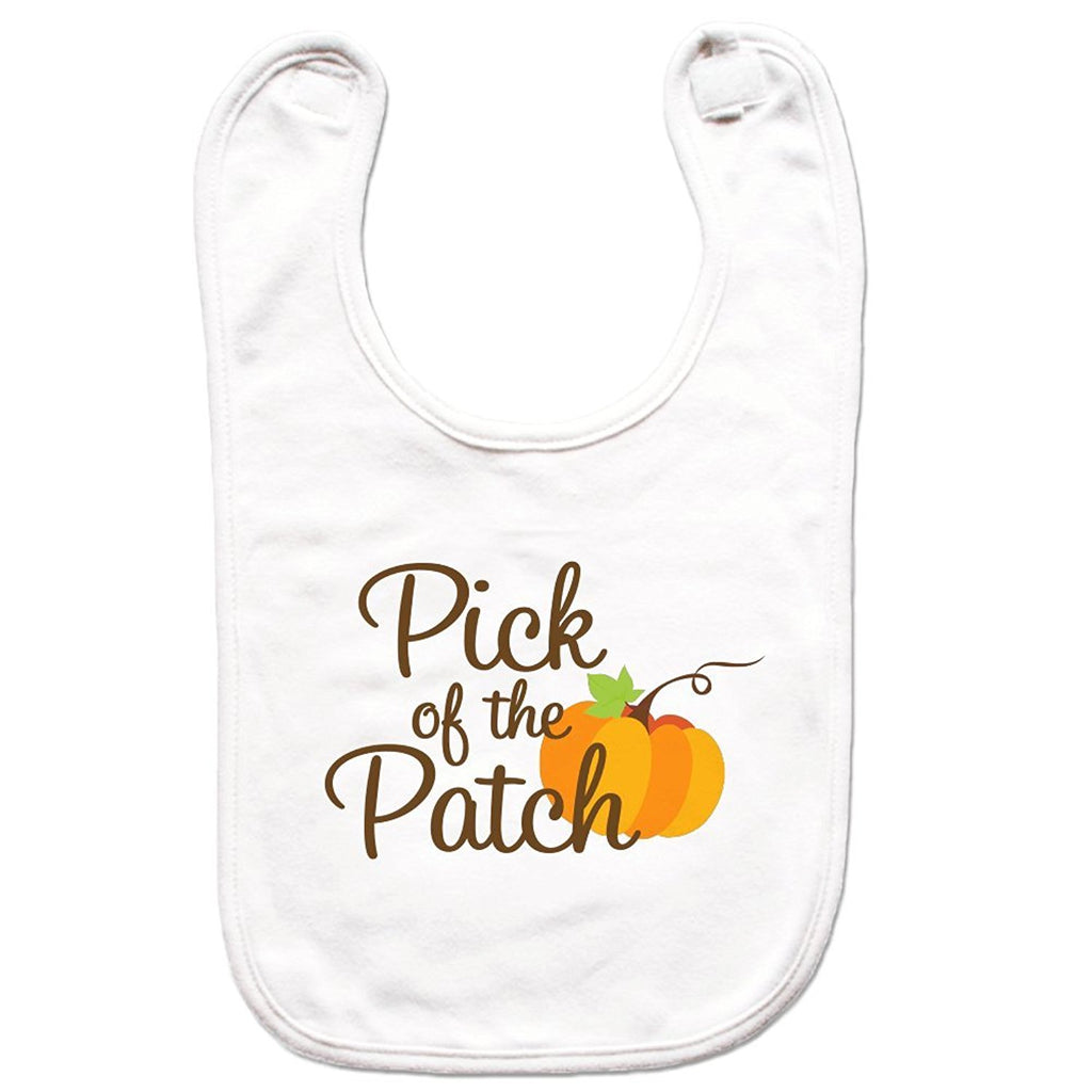 7 ate 9 Apparel Unisex Pick of the Patch Bib for Babies
