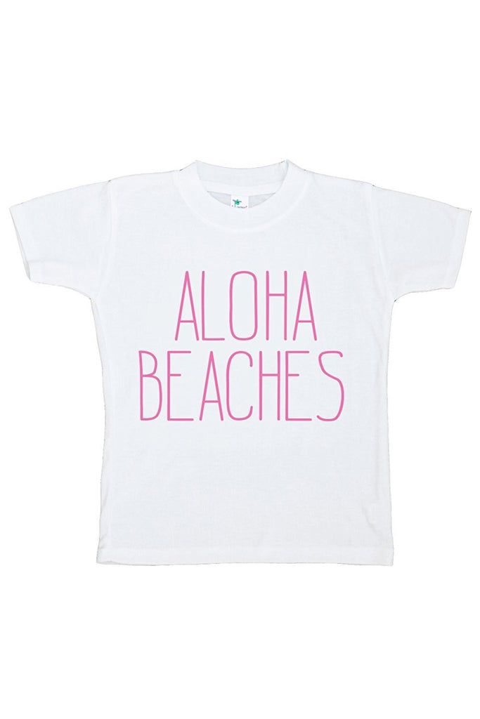 7 ate 9 Apparel Baby's Aloha Beaches Summer T-shirt