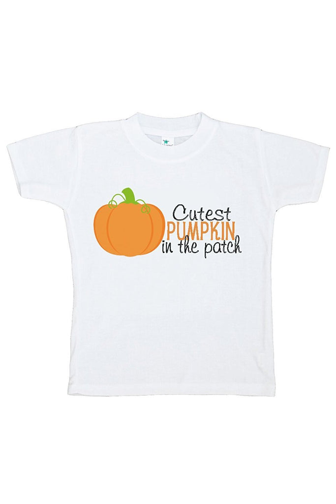 7 ate 9 Apparel Kids Cutest Pumpkin Halloween Tshirt