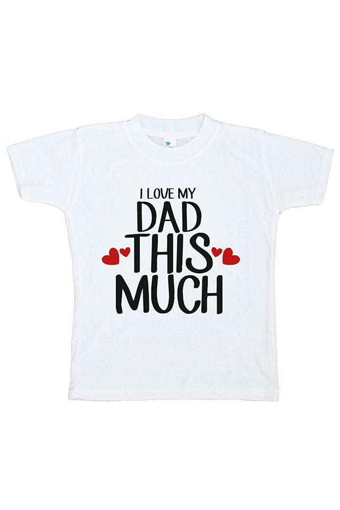 7 ate 9 Apparel Boy's I Love My Dad T-shirt