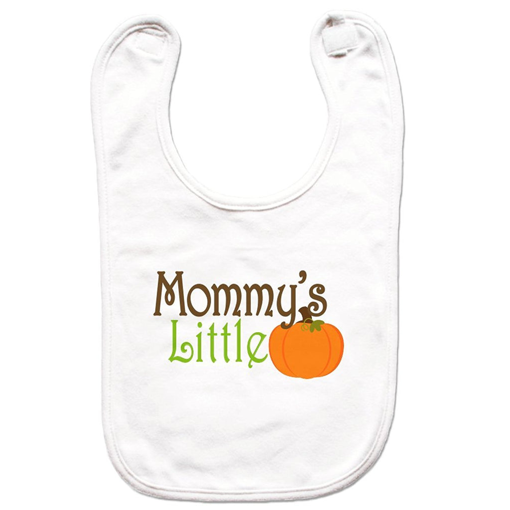 7 ate 9 Apparel Unisex Mommy's Little Pumpkin Bib for Babies