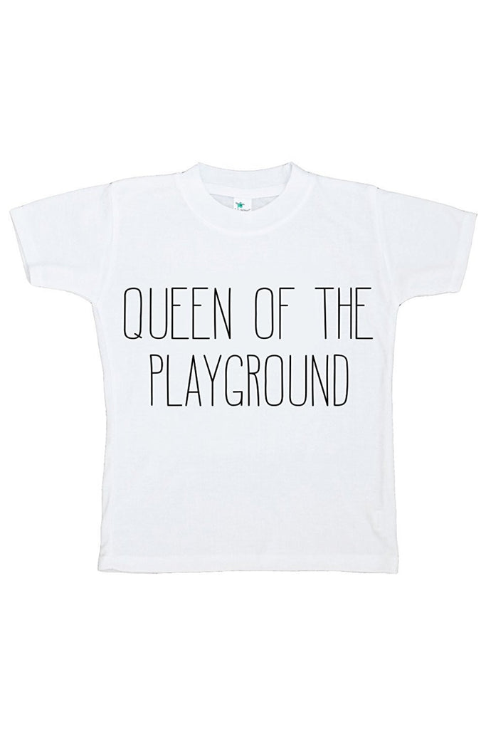 7 ate 9 Apparel Girls' Queen of the Playground T-shirt