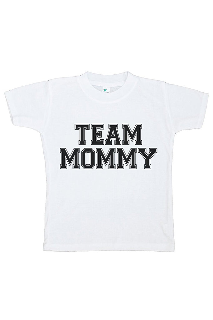 7 ate 9 Apparel Baby Boy's Team Mommy T-shirt