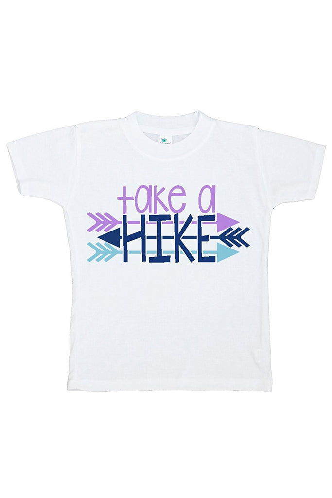 7 ate 9 Apparel Kids Take a Hike Outdoors T-shirt