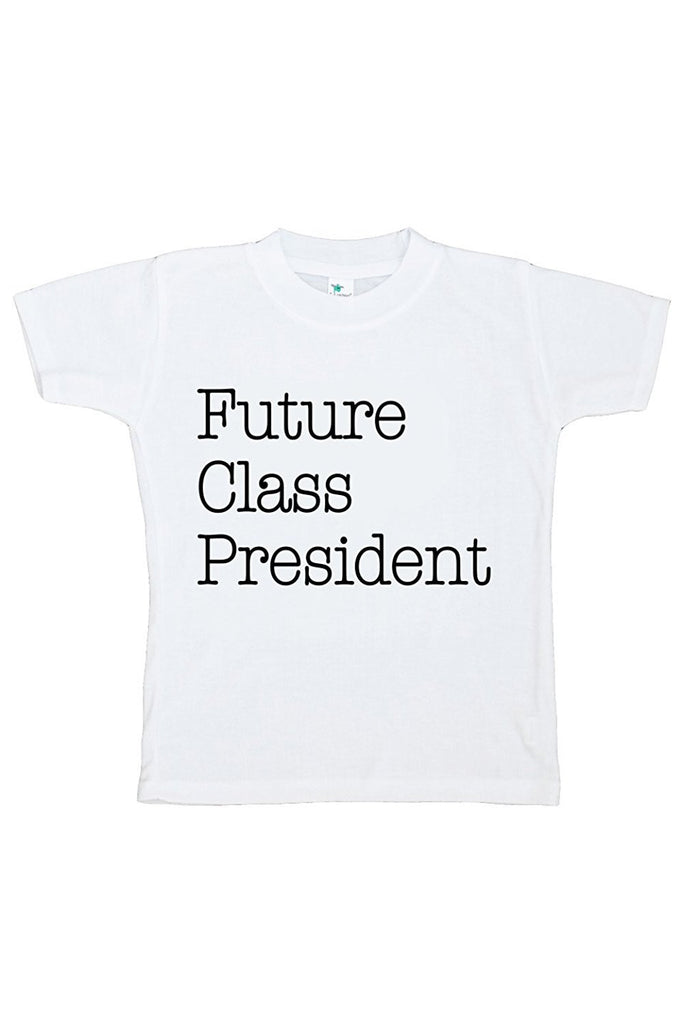 7 ate 9 Apparel Kids Future Class President School T-shirt