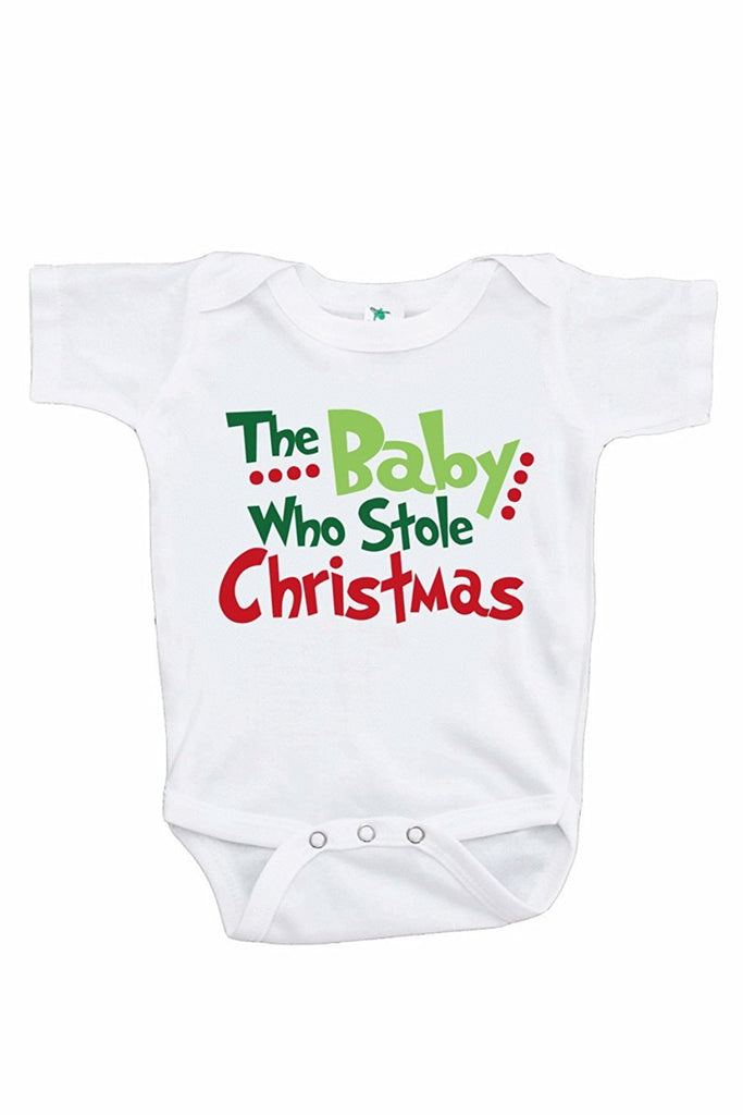 7 ate 9 Apparel Kids Baby Who Stole Christmas Onepiece