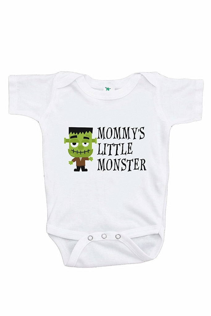 7 ate 9 Apparel Boy's Mommy's Monster Halloween Onepiece