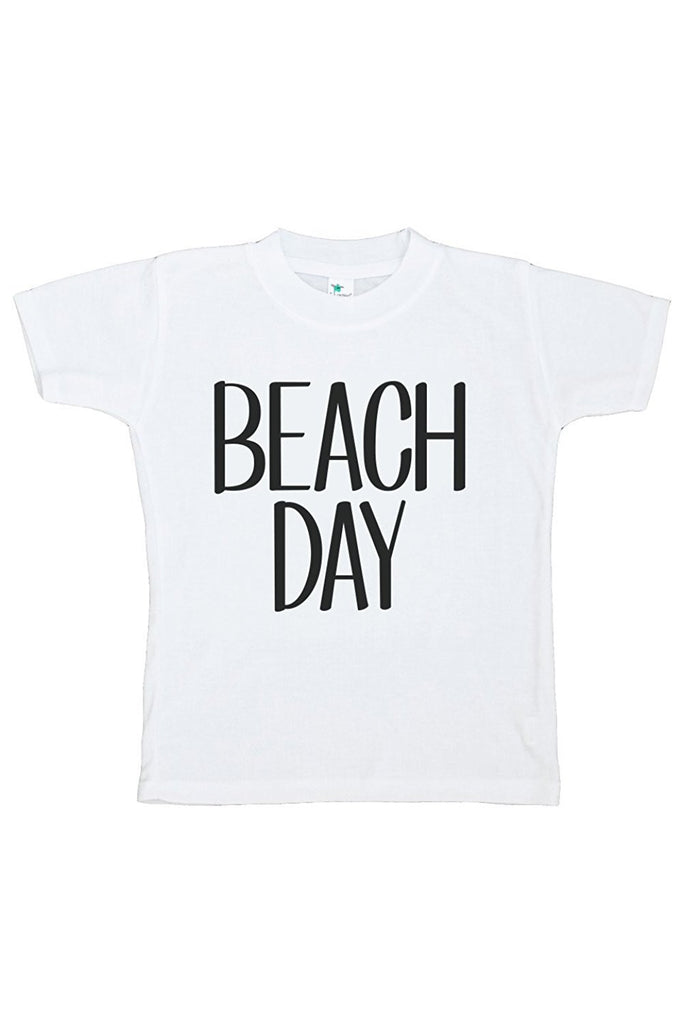 7 ate 9 Apparel Baby's Beach Day Summer T-shirt