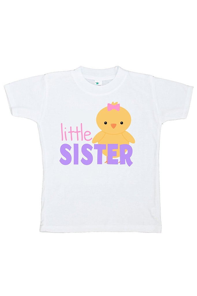 7 ate 9 Apparel Girls' Little Sister Easter Tshirt