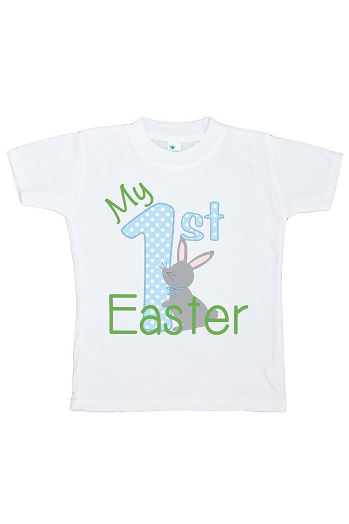 7 ate 9 Apparel My 1st Easter Boy's Novelty Easter Tshirt