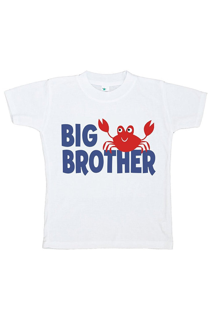 7 Ate 9 Apparel Baby Boy's Big Brother Summer T-shirt