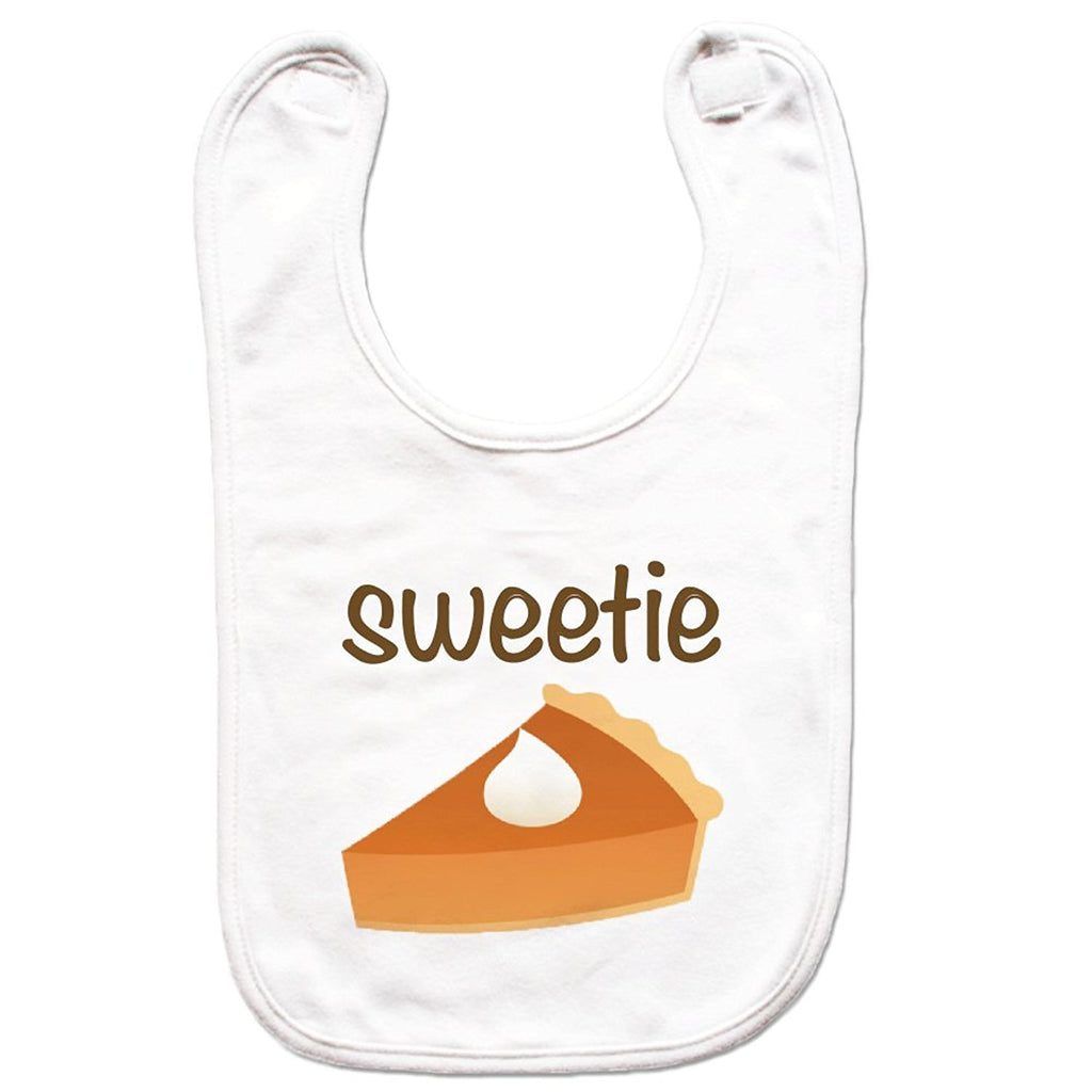 7 ate 9 Apparel Unisex Sweetie Pie Thanksgiving Bib for Babies