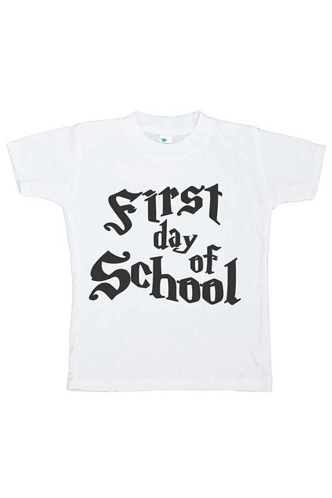 7 ate 9 Apparel Kids First Day of School T-shirt