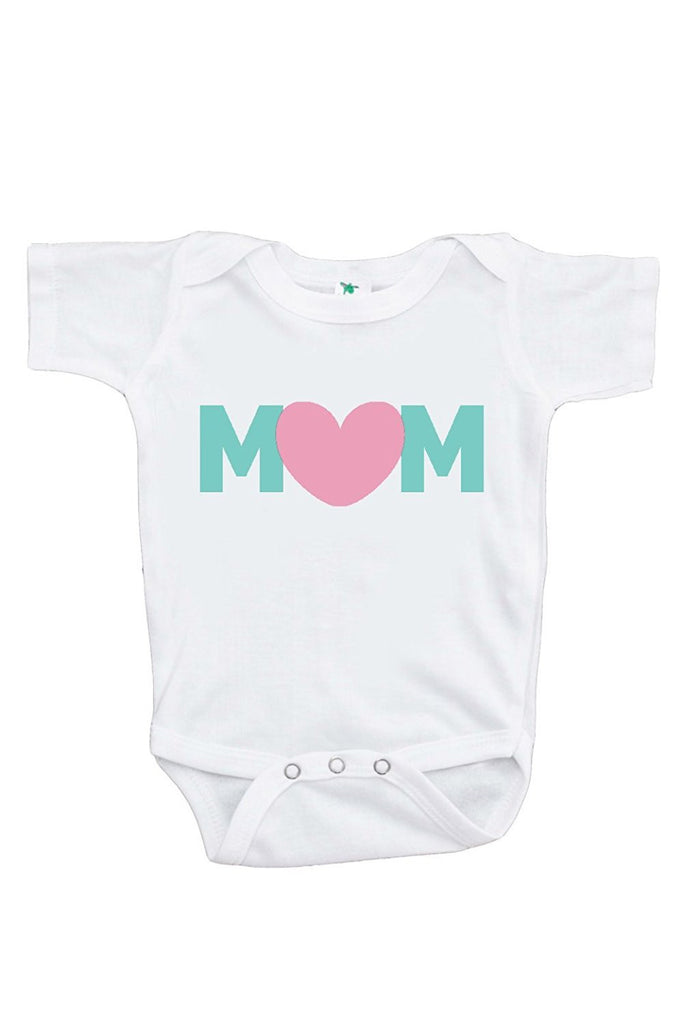 7 ate 9 Apparel Baby Girls' Novelty Mothers Day Onepiece
