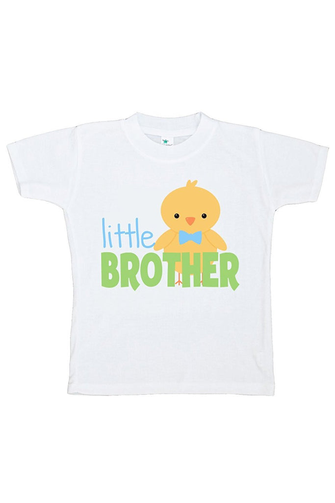 7 ate 9 Apparel Boy's Little Brother Easter Tshirt