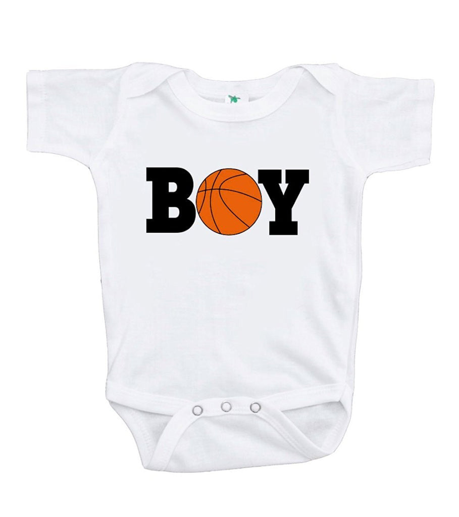 7 Ate 9 Apparel Baby Boy's Basketball BOY Onepiece