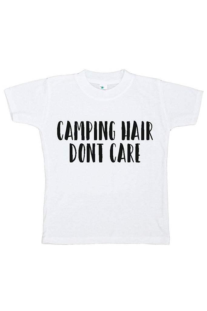 7 ate 9 Apparel Kids Camping Hair Outdoors T-shirt