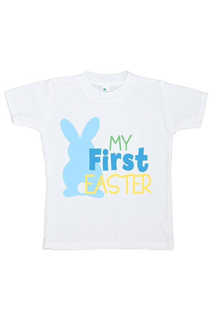 7 ate 9 Apparel First Easter Boy's Novelty Easter Tshirt