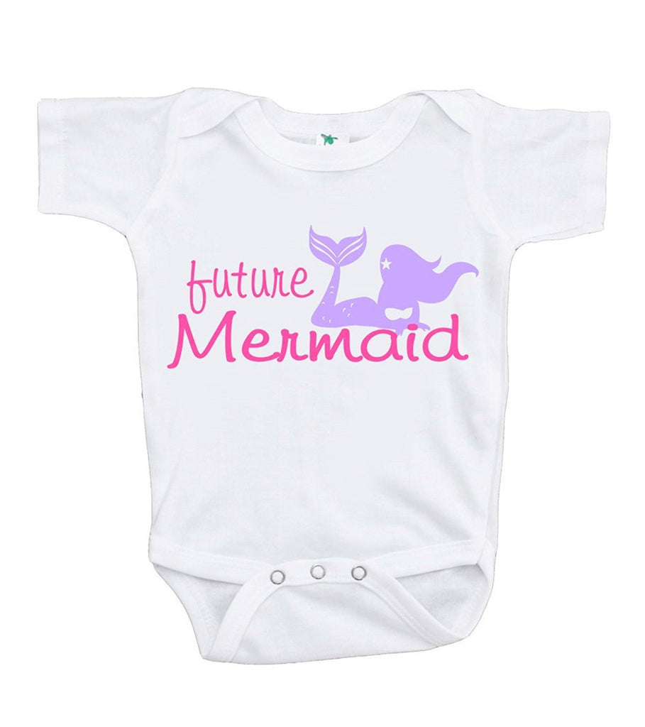 7 ate 9 Apparel Baby Girl's Future Mermaid Onepiece