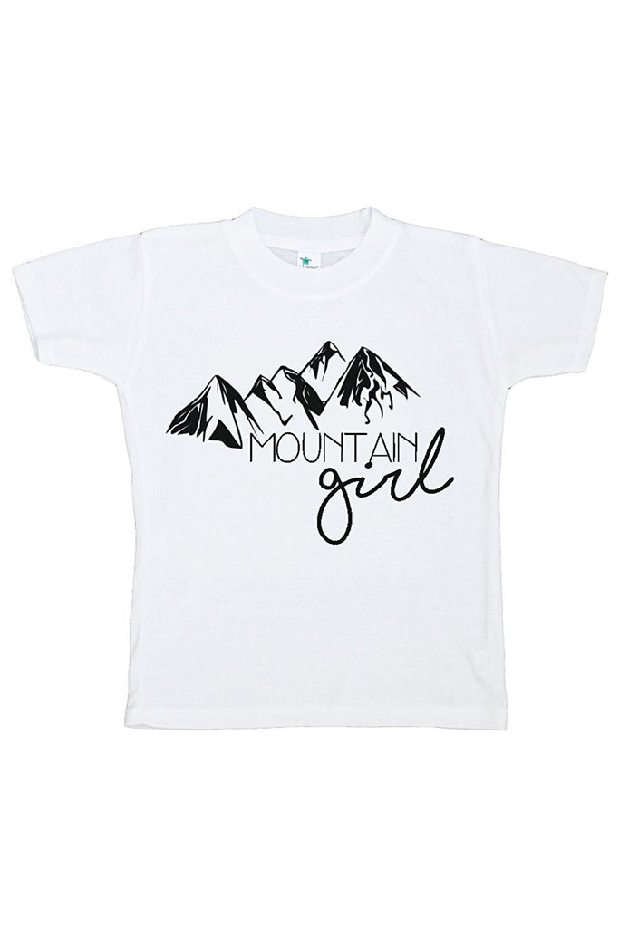 7 ate 9 Apparel Kids Mountain Girl Outdoors T-shirt