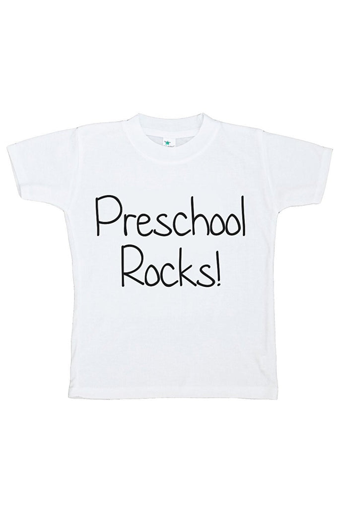 7 ate 9 Apparel Kids Preschool Rocks T-shirt