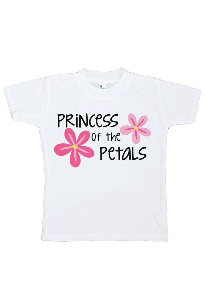 7 ate 9 Apparel Toddler Girl's Princess of the Petals Wedding T-shirt