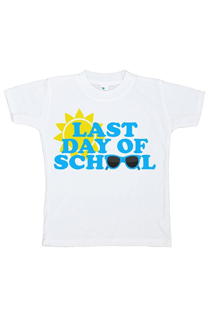 7 ate 9 Apparel Kids Last Day of School T-shirt