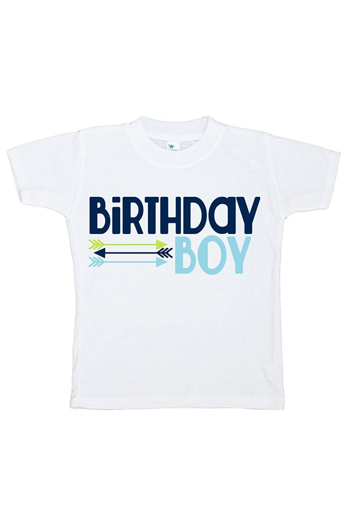 7 ate 9 Apparel Baby Boy's Novelty Arrows First Birthday Outfit 2T Blue and Green