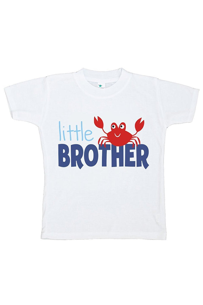 7 ate 9 Apparel Baby Boy's Little Brother Summer T-shirt