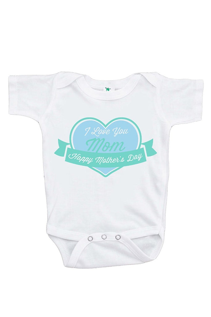7 ate 9 Apparel Baby Boy's Novelty Mothers Day Onepiece