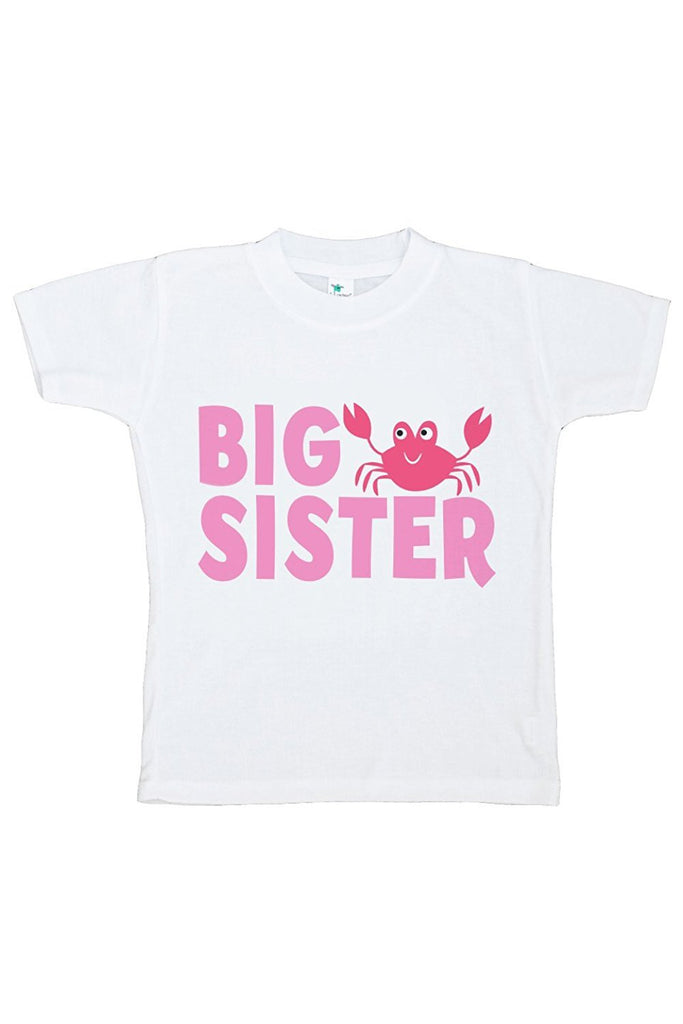 7 ate 9 Apparel Baby's Big Sister Summer T-shirt
