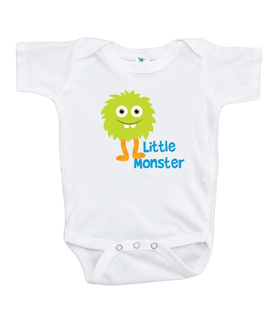 7 ate 9 Apparel Baby Boy's Little Monster Onepiece
