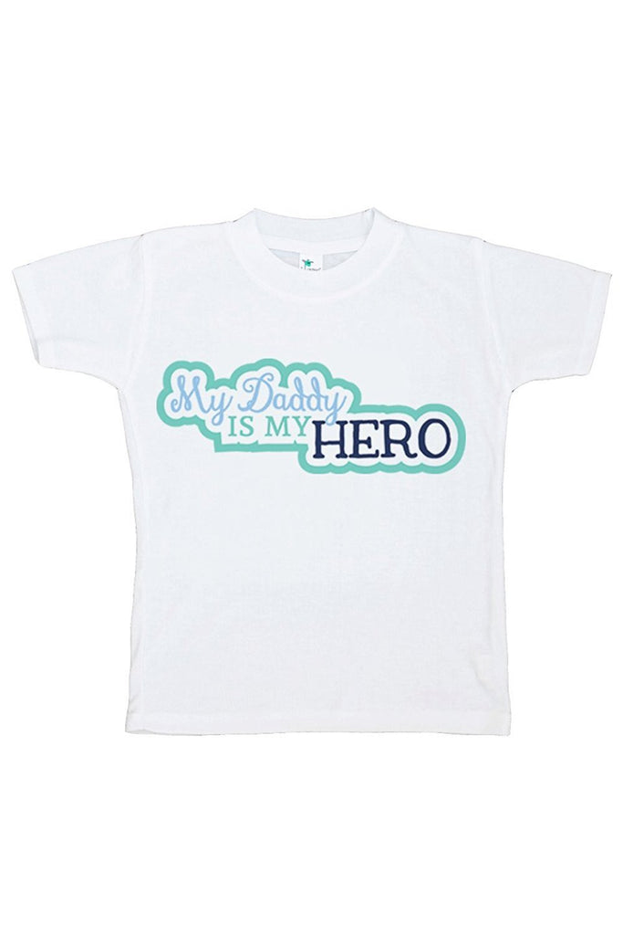 7 ate 9 Apparel Boy's Daddy's Is My Hero T-shirt