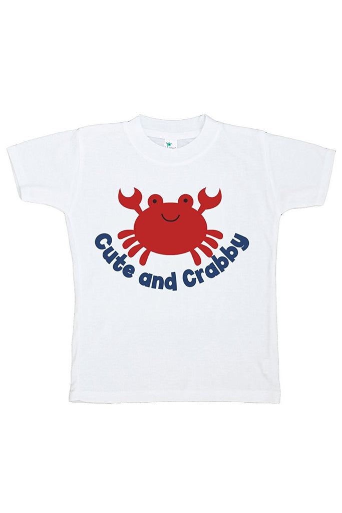 Cute And Crabby - Baby Boy's T-shirt