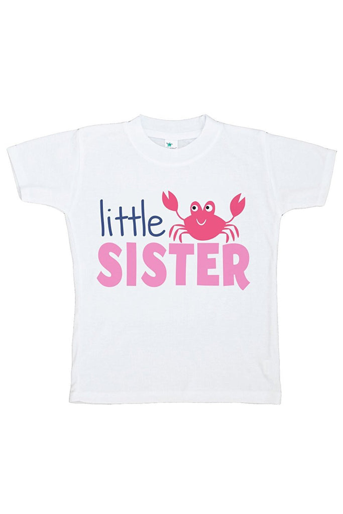 7 ate 9 Apparel Baby's Little Sister Summer T-shirt