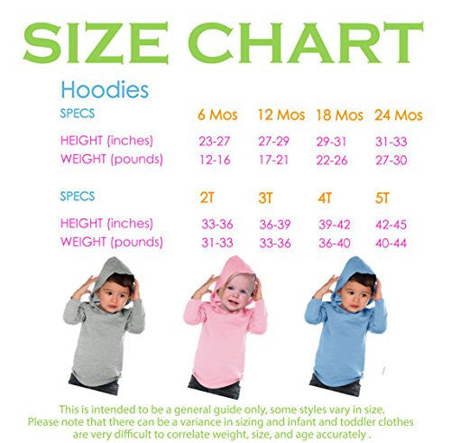 7 ate 9 Apparel Baby Boy's Novelty Little Brother Hoodie Pullover