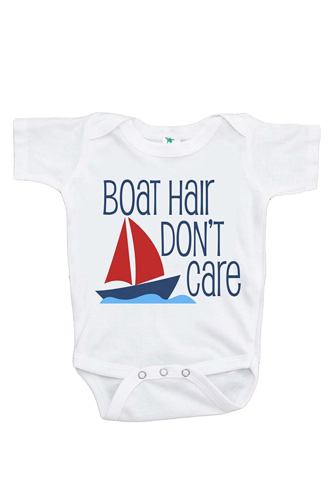7 Ate 9 Apparel Baby Boy's Boat Hair Summer Onepiece