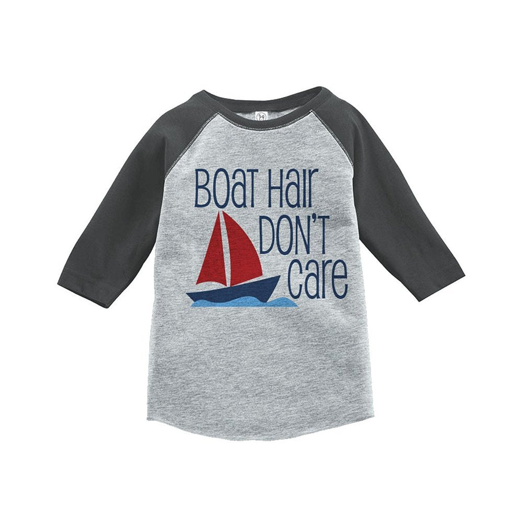 7 ate 9 Apparel Boat Hair Summer Raglan Tee
