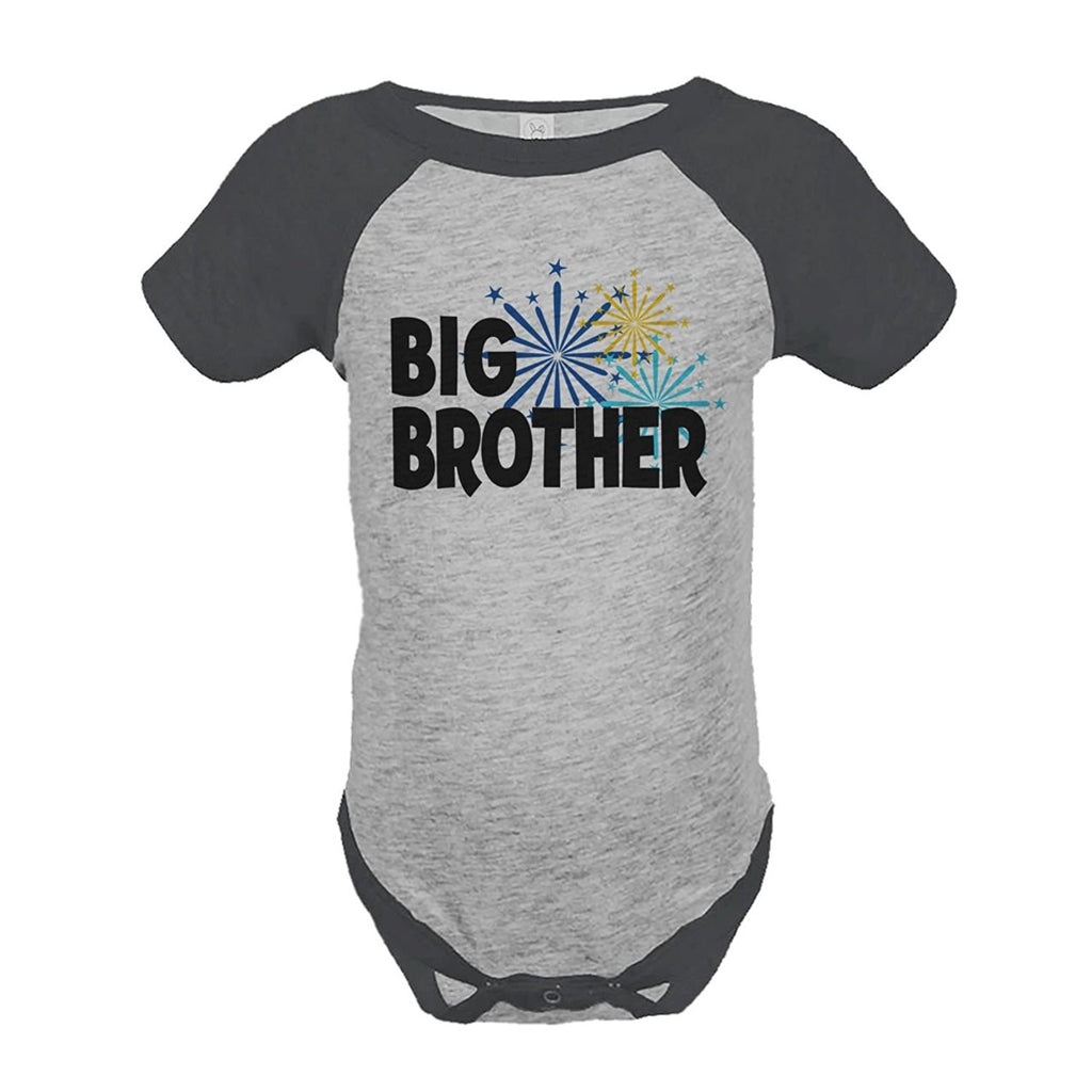 7 ate 9 Apparel Baby's Big Brother Happy New Year Onepiece