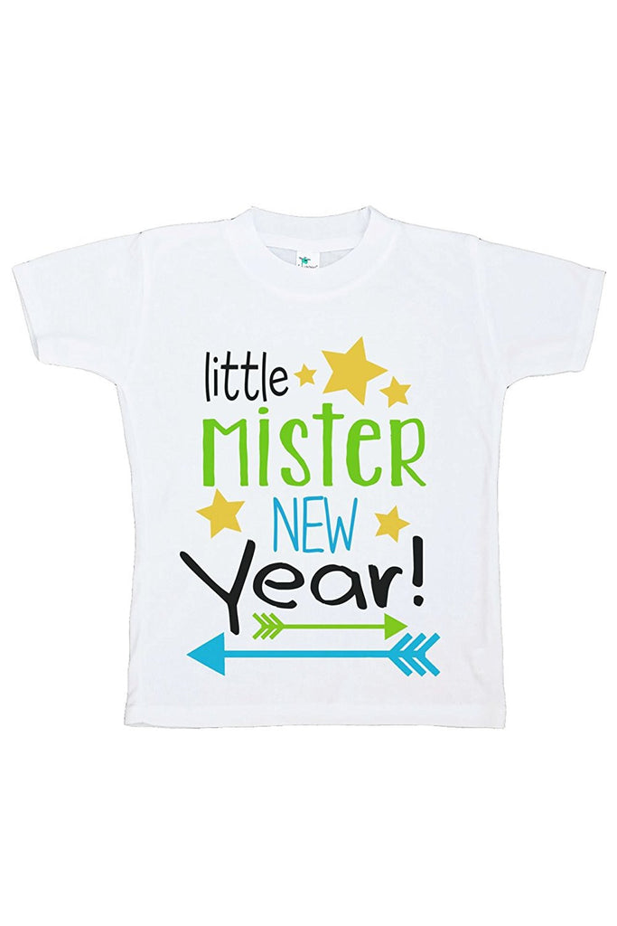 7 ate 9 Apparel Kids Little Mister New Year T-shirt