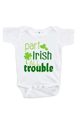 Custom Party Shop Unisex Baby's Novelty St. Patricks Day Onepiece